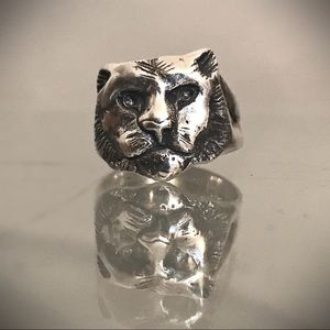 Unique One of a Kind Cat Ring